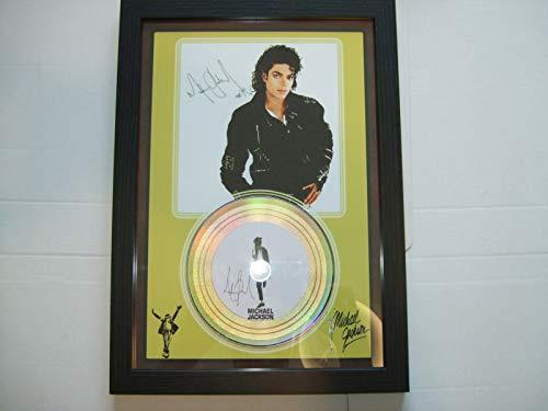 Michael Jackson signierte Mini-Disc.