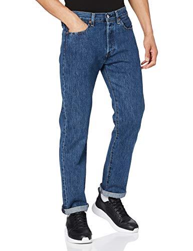 Levi's Herren 501 Original Jeans, Stonewash 80684, 36W / 32L