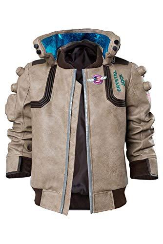 Video Spiel Cyberpunk 2077- V Top Jacke Cosplay Kostüm Herren L