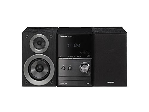Panasonic SC-PM602EG-K Micro-Anlage mit Digitalradio DAB+ (CD, Bluetooth, UKW Radio, HiFi-System mit 40W RMS) schwarz