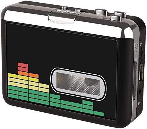 USB Kassettenrekorder Band zu MP3 Konverter,Tragbarer Walkman Audio Music Player Kassetten zu MP3 Konverter mit Kopfhörern,Kein PC Erforderlich