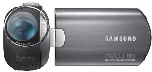 Samsung HMX-M20 HD-Camcorder (FULL HD, 10-Megapixel-BSI-CMOS, 12 x High Zoom, 6,85 cm drehbar LCD-Monitor) schwarz