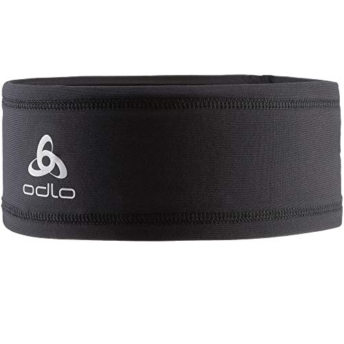 Odlo Headband Polyknit Light Stirnband, Black