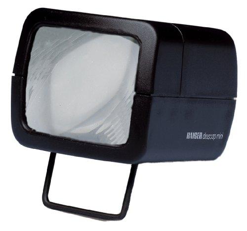 Kaiser Fototechnik 2010 diascop mini 3 Dia-Betrachter mit 3-fach vergrössernder Doppellinse