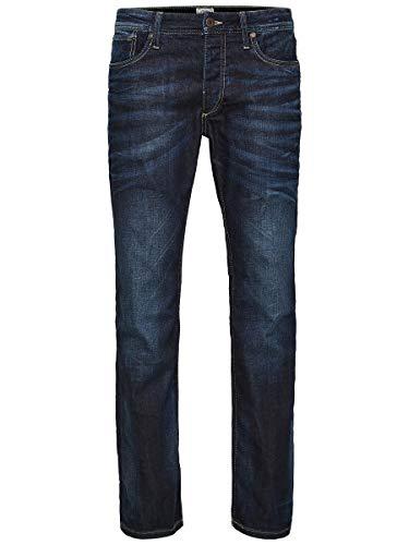 JACK & JONES Herren Regular fit Jeans Clark ORIGINAL JOS 318 3330Blue Denim