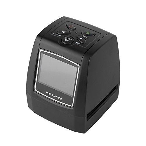 VBESTLIFE Film Scanner, 2.36 Zoll TFT LCD Bildschirm und MP/10MP USB 135/35mm Scanner Negativfilm,Unterstützung SD/MMC-Karte für lokale Speicherung