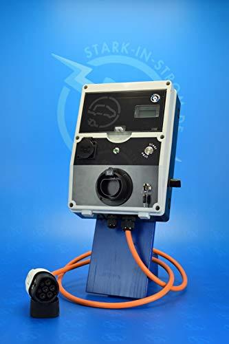 Wallbox 22 Kw. -PRO- / Ladestrom Regelbar / -Made in Germany- (Ohne Zuleitung)
