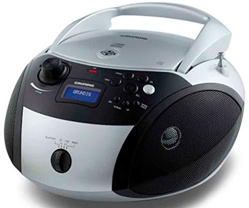Grundig Rcd 1500 Bt Radio Cd Con Usb Bluetooth Plata