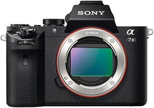 Sony Alpha 7 II   Spiegellose Vollformat-Kamera ( 24,3 Megapixel, schneller Hybrid-Autofokus, optische 5-Achsen-Bildstabilisierung im Gehäuse, AXAVC S-Format-Aufzeichnung)