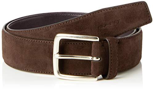 GANT Herren Classic Suede Belt Gürtel, Braun (Java 232), 680 (Herstellergröße: 120)