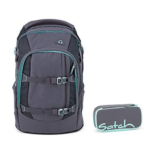 Satch Pack Mint Phantom 2er Set Schulrucksack & Schlamperbox