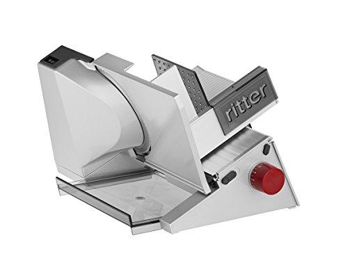 ritter Allesschneider contura 3, elektrischer Allesschneider mit ECO-Motor, made in Germany, Rot