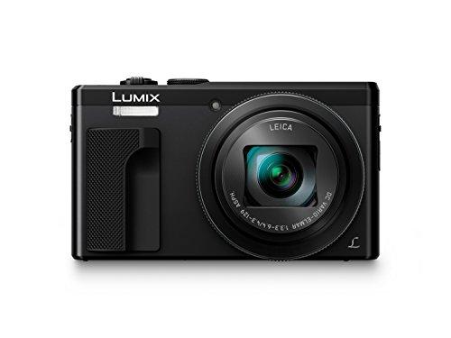 Panasonic LUMIX DMC-TZ81EG-K Travellerzoom Kamera (18,1 Megapixel, LEICA Objektiv mit 30x opt. Zoom, 4K Foto und Video, Sucher, 3-Zoll Touch-LCD) schwarz