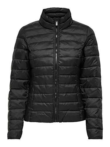 ONLY Damen Onlnewtahoe Quilted Jacket Cc Otw Jacke, Schwarz, S EU