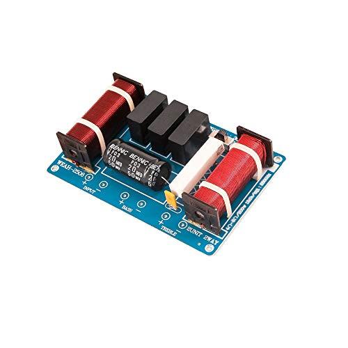 WNJ-TOOL, 1 stück 260W 2 Way Lautsprecher Audio Crossover Board Treble Bass Lautsprecher Professioneller Frequenzteiler für 6,5-10 Zoll Lautsprecher