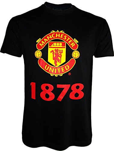 Manchester United T-Shirt, offizielle Kollektion, Erwachsenengröße, Herren - M