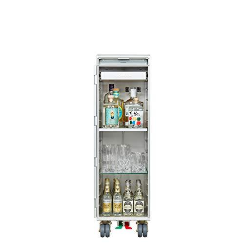 VanDeBord Ausstattungspaket Bar, Zubehör für Airline Trolleys, Flugzeug-Trolley-Bar (Aluminium, KSSU)