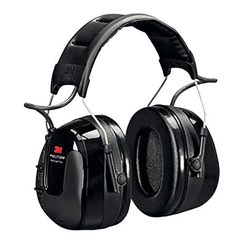 3M Peltor WorkTunes Pro FM Radio Gehörschutz, 32dB - Zuverlässiger Ohrenschutz mit integriertem Radio - Ideal für Forst-, oder Landarbeit und lärmintensive Freizeitaktivitäten