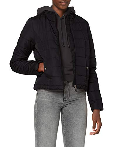 VERO MODA Damen VMSIMONE AW20 Short Jacket GA BOOS Jacke, Black, XS