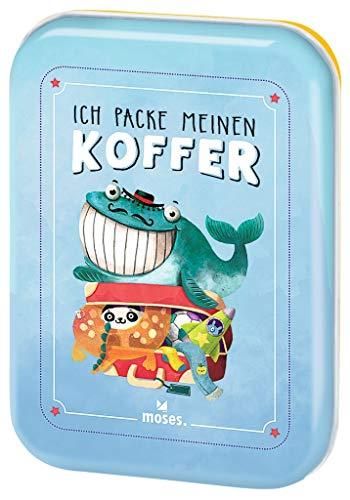 Ich packe meinen Koffer   Der Spieleklassiker für Kinder ab 4 Jahren  Kinderbeschäftigung   Kartenset