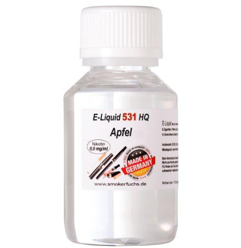 100ml E-Liquid No. 531 HQ Apfel 0,0 mg Nikotin