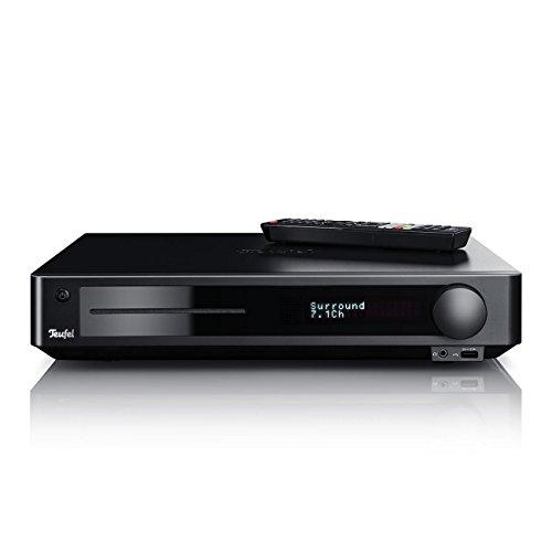 Teufel Impaq 8000 Blu-ray Receiver Schwarz Lautsprecher