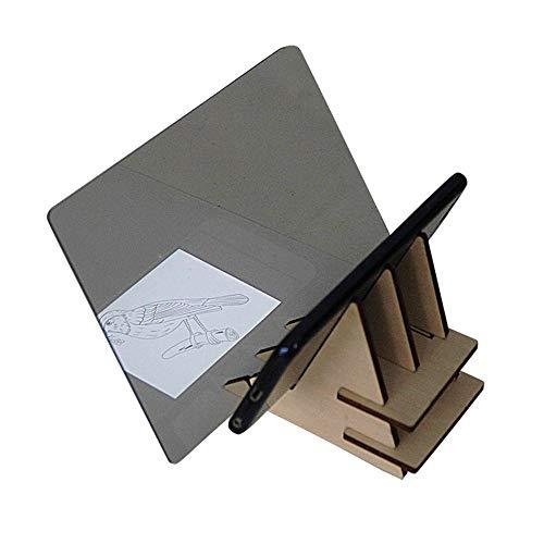 ASADVE Zeichenbrett Kinderplatte Zeichenbrett Spielzeug Optische Zeichnung Projektor Zeichenwerkzeug Skizze Kunst Kopie Werkzeug