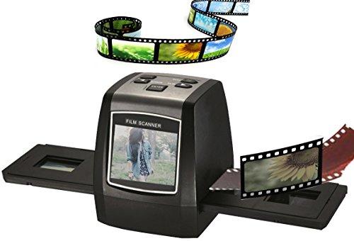 zowaysoon LCD Film Scanner Film Konverter 35mm Film Slide und Negative Scanner Negativ-Film zu jpg USB MSDC
