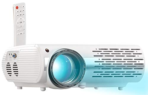 SceneLights Projector: Full-HD LED-LCD-Beamer mit Media-Player, 1920 x 1080 Pixel, 3.000 lm (Home-Beamer)