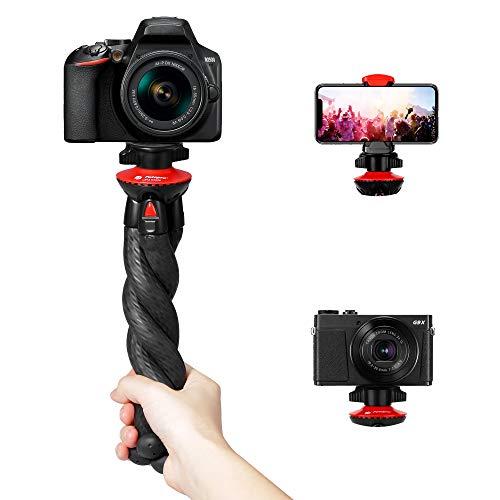 Fotopro Handy Stativ Flexibel Smartphone Stative Kamera Stativ Mini Tripod Handy Halter Halterung für iPhone Samsung Huawei und Action Cam (UFO Basic)