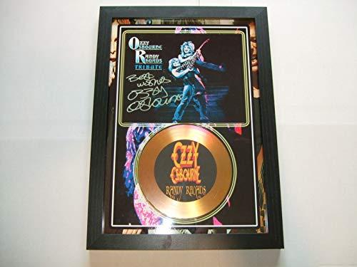 Black Sabbath signierte Mini-Disc.