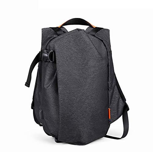 Chang Laptop-Rucksack Mit USB-Ladeschnittstelle/Kopfhöreranschluss Große Kapazität Rucksack Wasserdicht Atmungsaktiv Kopfhörer Port,OneSize