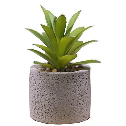 Stücke Künstliche Sukkulenten Pflanzen Mit Töpfen Tischdeko Haus Balkon Büro Deko (Color : A)