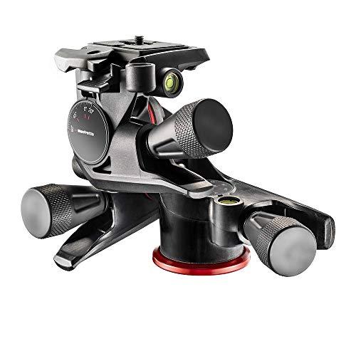 Manfrotto XPRO 3-Wege-Neiger, Kamera-Stativkopf, 3-Achsen-Bewegung, hohe Genauigkeit, Fotoausrüstung für Content Creation, Fotografie, Video-Blogs