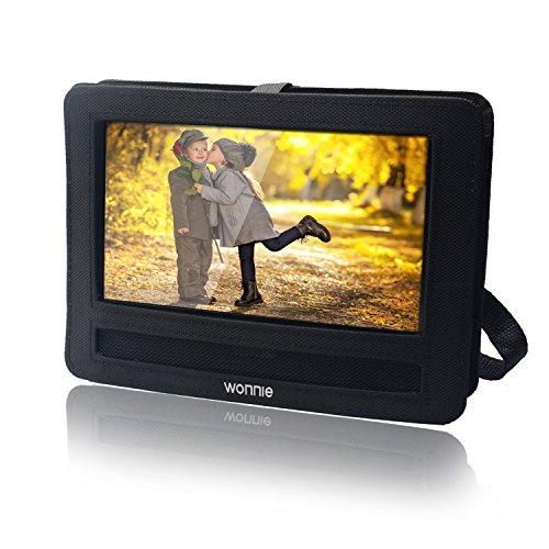 WONNIE Auto-Kopfstützen-Halterung für tragbaren DVD-Player von Wonnie Sylvania RCA und andere 9 Zoll tragbare DVD-Player