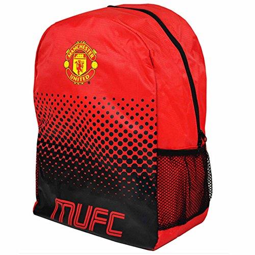 Old Trafford Offizieller Manchester United Premier Fußball-Wappen-Rucksack