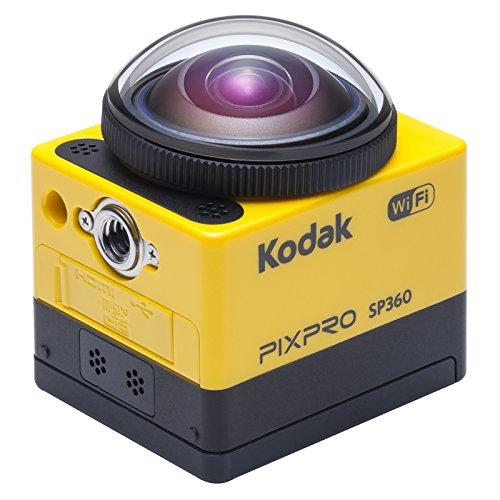 Kodak SP360 Extreme Pixpro Action Kamera inklusiv Extreme Kit gelb/schwarz