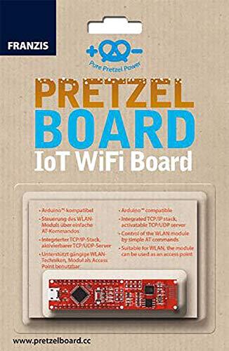 FRANZIS Pretzel Board: IoT WiFi Board | Arduino-kompatibel | inkl. WLAN-Modul für eigenes Heimnetzwerk