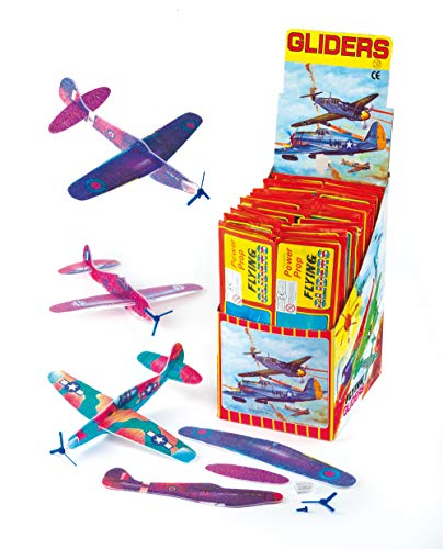 """Baker Ross Gleitflugzeuge """"Propeller"""" – zum Spielen für Kinder – als Preis und Mitgebsel für den Kindergeburtstag (6 Stück)"""
