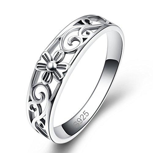 Bonlavie Damen - 925 Sterlingsilber Sterling-Silber 925