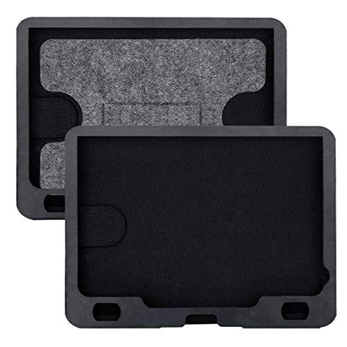 NAVISKAUTO 9' Auto KFZ Kopfstützenhalterung Kopfstütze Halterung für Tragbarer DVD Player Spieler Kopfstützenmonitor PA2011B geeignet für Modell PD0921B, 2 Stücke