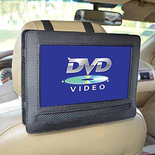Gemini _ Mall Auto Kopfstützenhalterung für 9 Zoll DVD-Player mit Neigungs- und Schwenkfunktion Kfz Halterung Kopfstütze
