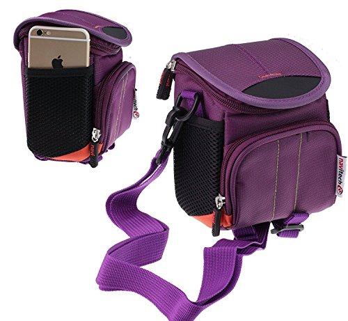 Navitech Violet Wasser wiederständige Digital Kamera Tasche für das Samsung NX500 / Samsung NX Mini