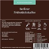 Berliner Kaffeerösterei Frühstückskaffee, 1er Pack (1 x 1 kg)