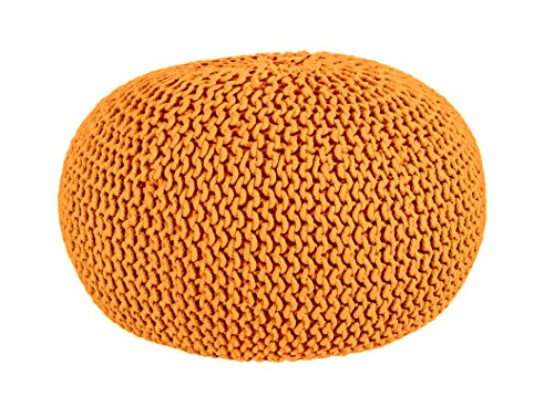 Industrial Pouf 720179 orange