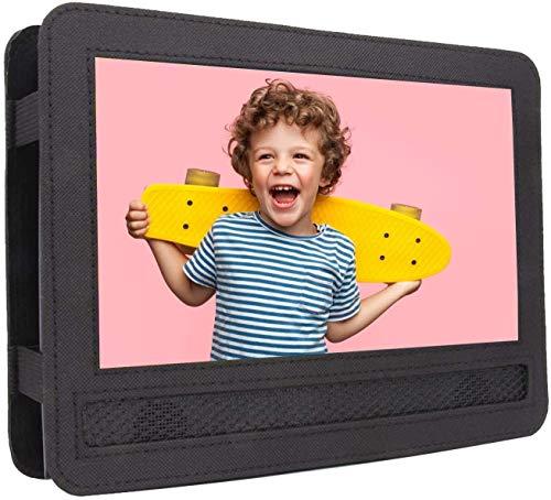 COOAU Auto-Kopfstützen-Halterung für tragbare DVD-Player von 22,9 cm – 24,1 cm (9 Zoll) mit Dreh- und Klappbildschirm (für CU-901, CU-902, CU-969)