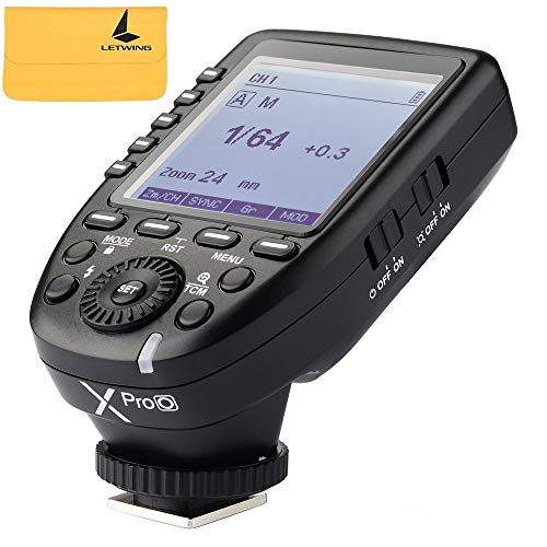 Godox XPro-O Blitzauslöser mit Professionellen Funktionen Unterstützt TTL Autoflash für Olympus Panasonic Kameras