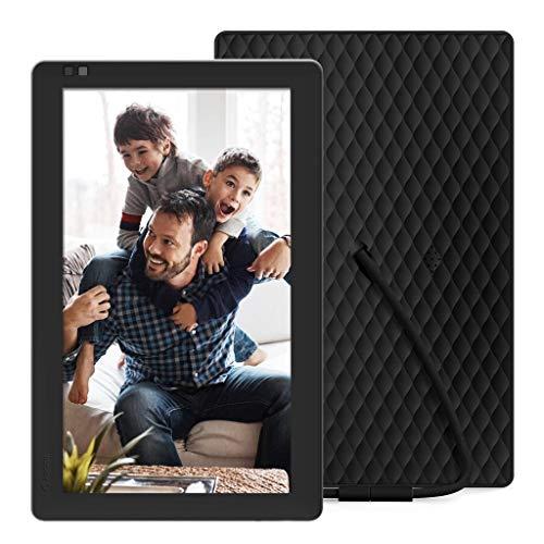 NIXPLAY WLAN Digitaler Bilderrahmen 10 Zoll, E-Mail, App, Google Fotos, Dropbox, Verizon Cloud, Facebook und Instagram Verbindung, Model: Seed