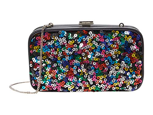 Kate Spade New York Frame Sequins Clutch Multi One Size