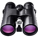 Fernglas 10x42 für Vogelbeobachtung, Jagd, Safari - HD bak4 Linsen, Wasserdicht